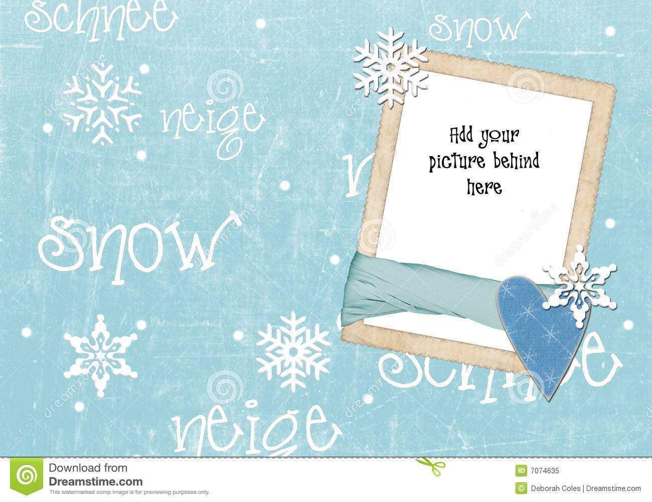 71 Creative Christmas Card Template Snow Templates with Christmas Card Template Snow