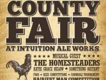 71 Creative County Fair Flyer Template in Word with County Fair Flyer Template