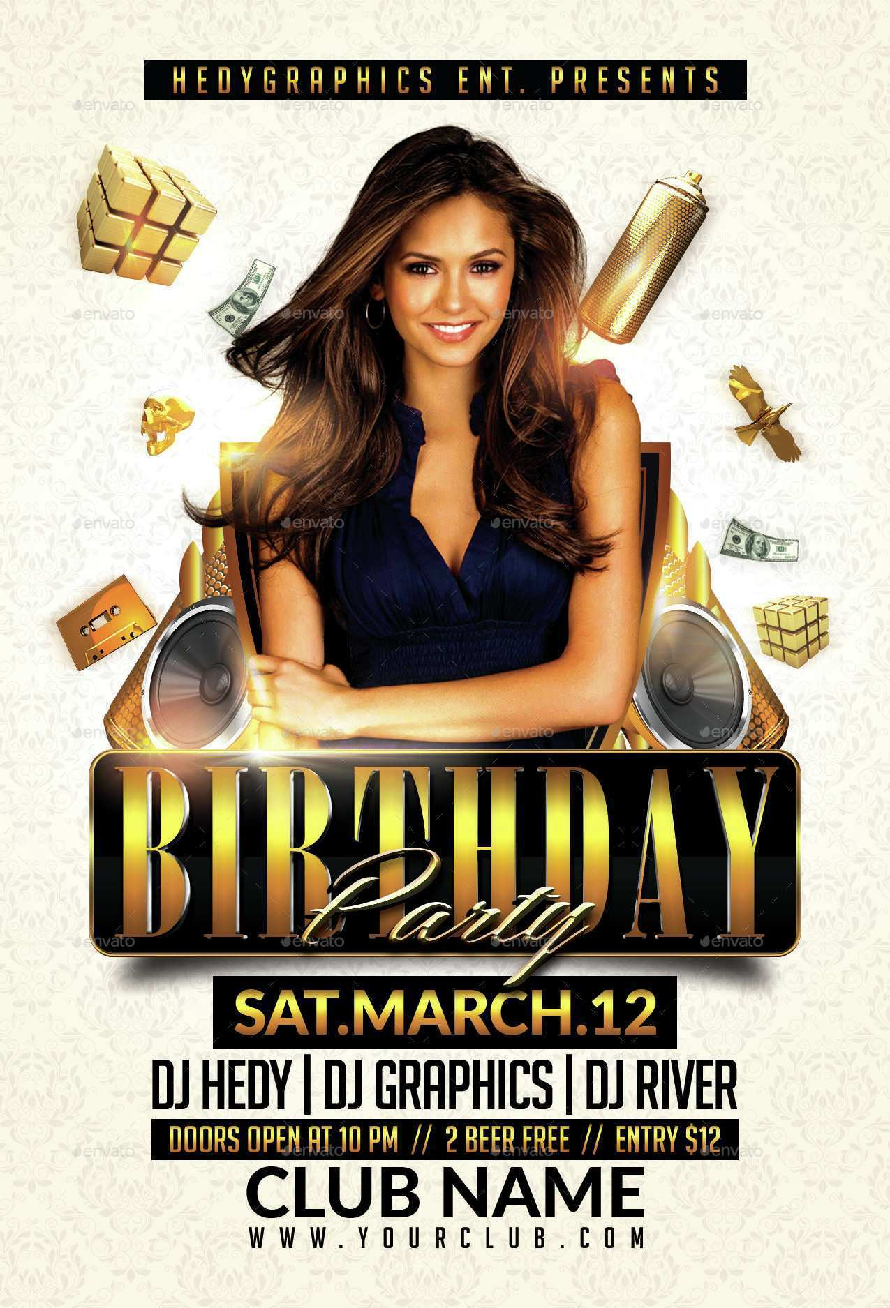 71 Customize Our Free Birthday Club Flyer Template Layouts for Birthday Club Flyer Template