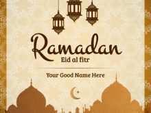 71 Customize Our Free Eid Ul Fitr Card Templates Photo with Eid Ul Fitr Card Templates