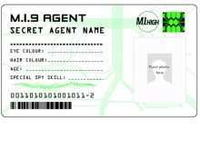 71 Format Agent Id Card Template Templates for Agent Id Card Template