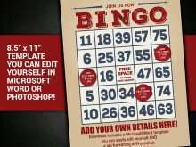 71 Format Bingo Flyer Template Free in Photoshop for Bingo Flyer Template Free