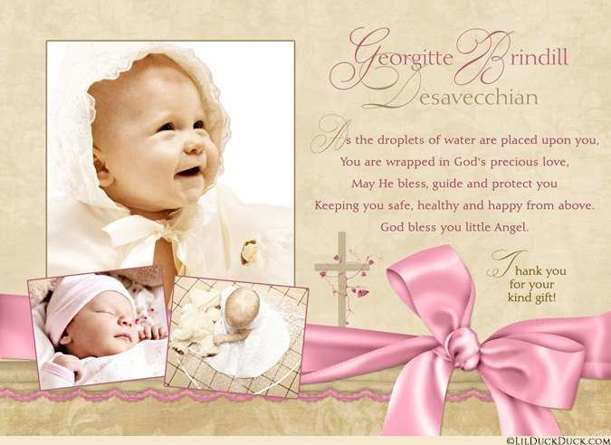 71 Format Christening Thank You Card Template Free For Free by Christening Thank You Card Template Free