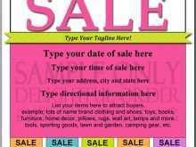 71 Format Community Yard Sale Flyer Template Formating by Community Yard Sale Flyer Template