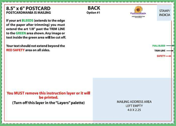 71 Free 11X6 Postcard Template in Photoshop by 11X6 Postcard Template