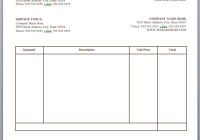 71 Free Artist Invoice Format Templates with Artist Invoice Format