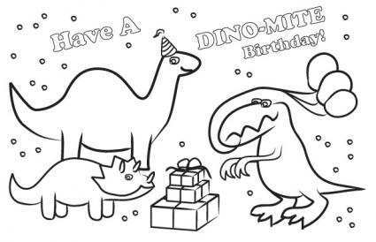 71 Free Birthday Card Template Dinosaur With Stunning Design for Birthday Card Template Dinosaur