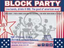 71 Free Block Party Template Flyer in Word for Block Party Template Flyer