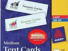 71 Free Free Avery Tent Card Template 5305 Maker with Free Avery Tent Card Template 5305