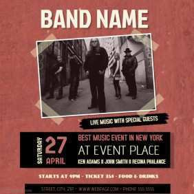 71 How To Create Band Flyers Templates Formating by Band Flyers Templates
