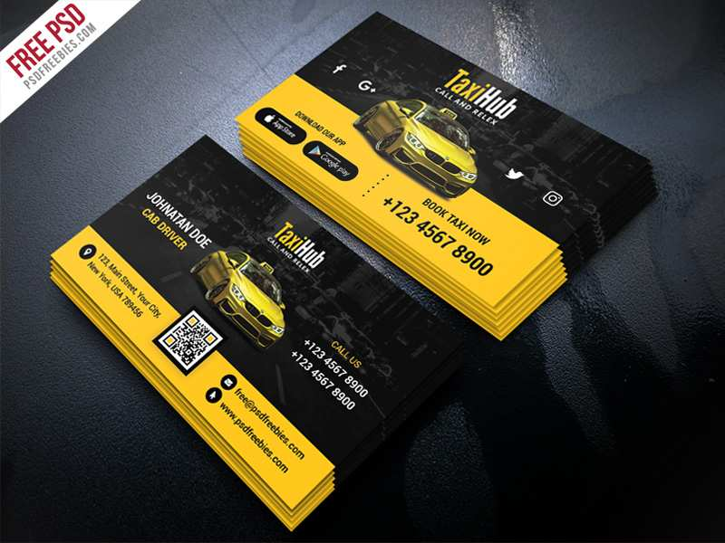 71 How To Create Business Card Template Taxi Formating for Business Card Template Taxi