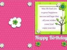 71 How To Create Flower Card Templates Excel Layouts for Flower Card Templates Excel
