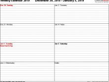 71 Online 2018 Daily Calendar Template Pdf Maker for 2018 Daily Calendar Template Pdf
