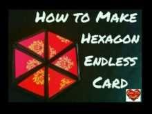71 Printable Card Hexagon Template for Ms Word for Card Hexagon Template