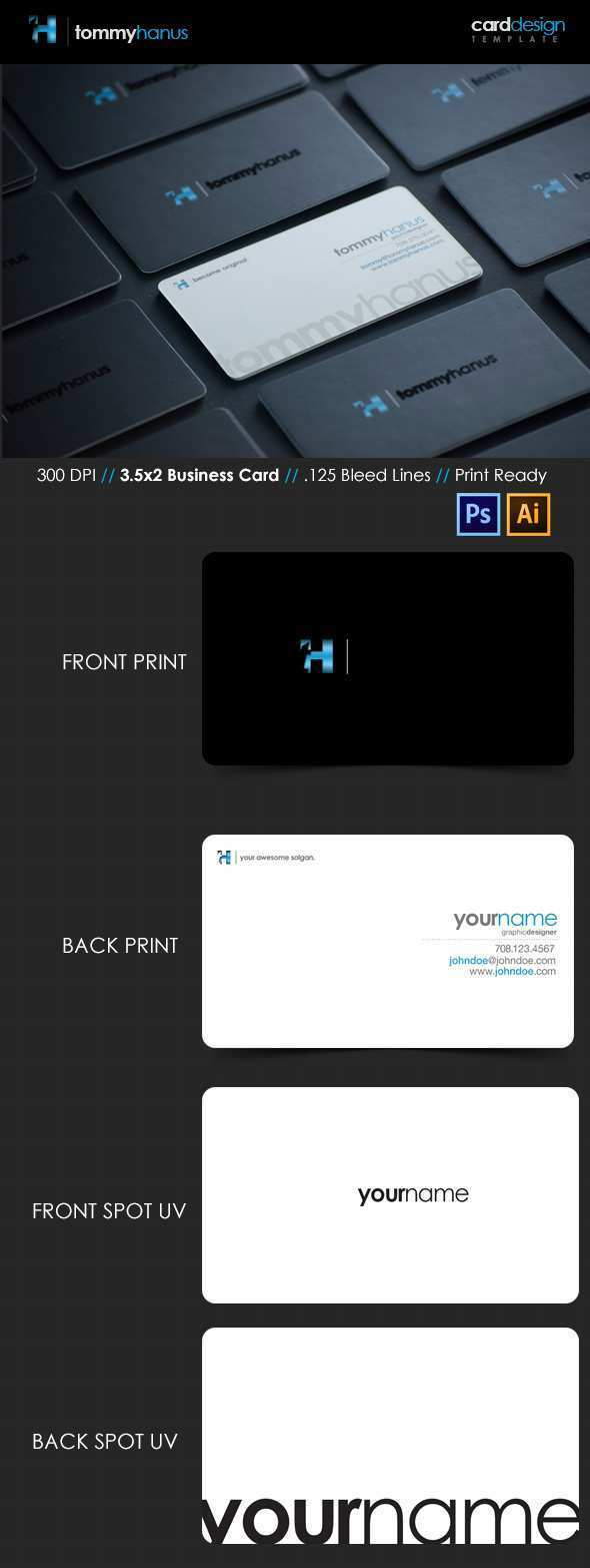71 Report Business Card Template Ai Format Formating with Business Card Template Ai Format