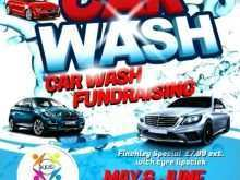71 Report Car Wash Fundraiser Flyer Template Word PSD File with Car Wash Fundraiser Flyer Template Word