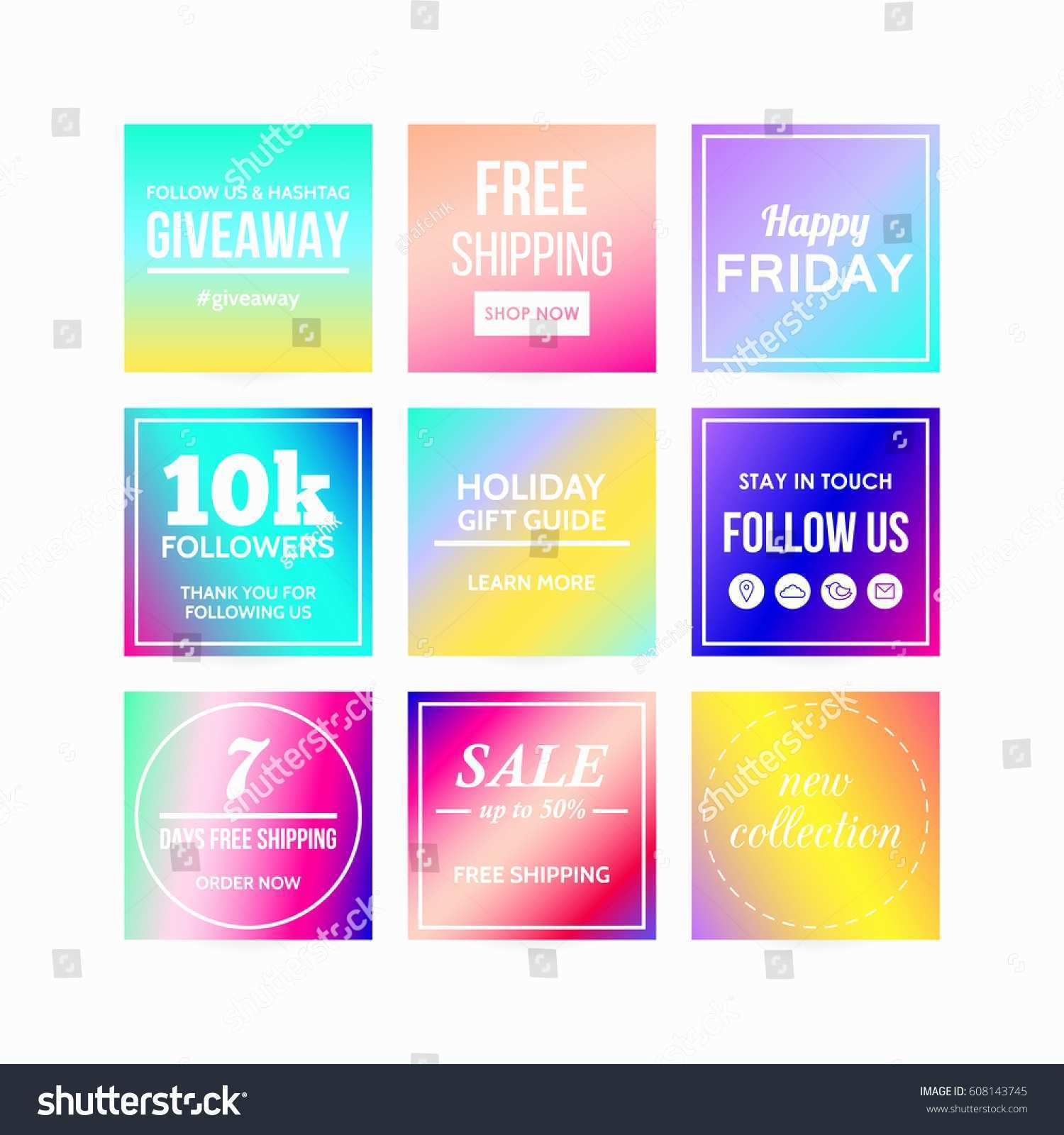 follow us on social media template free
