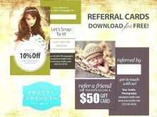 Refer A Friend Card Template Free