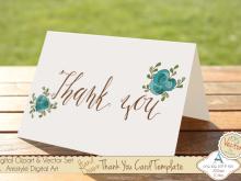 71 Standard Thank You Card Template Adobe Illustrator Photo for Thank You Card Template Adobe Illustrator
