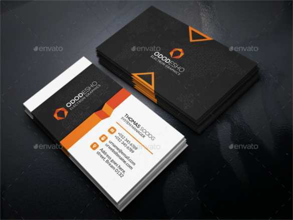 71 The Best Business Card Templates Illustrator For Free by Business Card Templates Illustrator