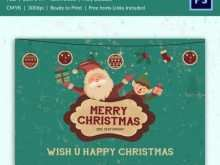 71 The Best Christmas Greeting Card Template Free Download Layouts by Christmas Greeting Card Template Free Download