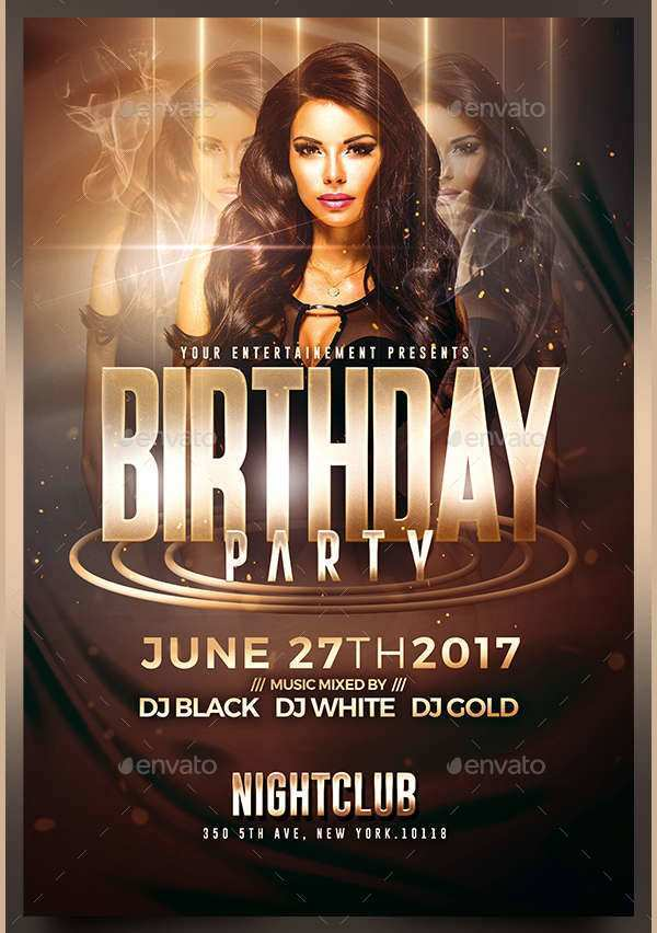 71 Visiting Birthday Club Flyer Template for Ms Word for Birthday Club Flyer Template