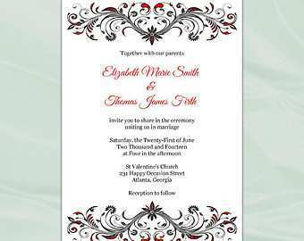 72 Adding Invitation Card Template Pdf Now for Invitation Card Template Pdf
