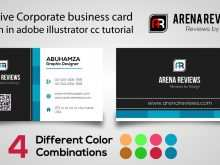 72 Best Business Card Template Illustrator Cc in Word for Business Card Template Illustrator Cc