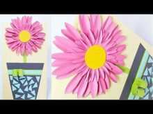 72 Best Flower Card Templates Youtube Now with Flower Card Templates Youtube