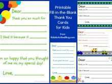 Free Printable Thank You Note Card Templates