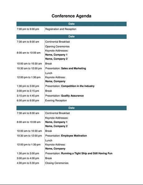 72 Create Conference Agenda Design Template PSD File by Conference Agenda Design Template