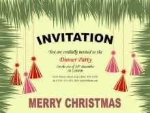 72 Creating Christmas Invitation Flyer Template Free for Ms Word by Christmas Invitation Flyer Template Free