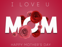 Mother'S Day Card Template Psd