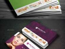 72 Customize Our Free Business Card Template Spa Photo for Business Card Template Spa