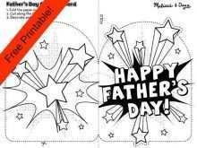 72 Customize Our Free Father S Day Card Template For Toddlers For Free for Father S Day Card Template For Toddlers