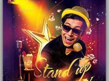 Stand Up Comedy Flyer Templates