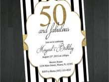 72 Format 50Th Birthday Card Template Free For Free for 50Th Birthday Card Template Free