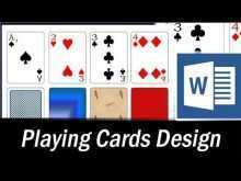 72 Free Printable Card Game Template Microsoft Word Maker by Card Game Template Microsoft Word