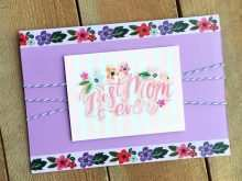 72 Free Printable Diy Mother S Day Card Template for Ms Word for Diy Mother S Day Card Template