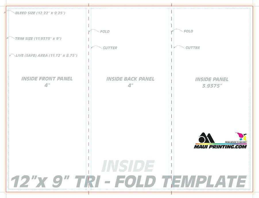 72 Online 3 Fold Card Template Photo for 3 Fold Card Template