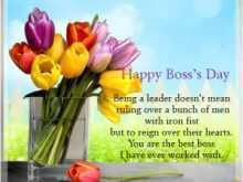 72 Online Happy Boss S Day Greeting Card Templates Formating with Happy Boss S Day Greeting Card Templates