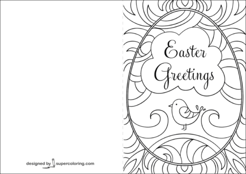 72 Printable Birthday Card Template To Color With Stunning Design for Birthday Card Template To Color