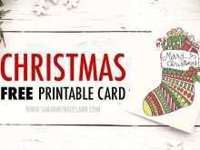 Christmas Card Template To Print