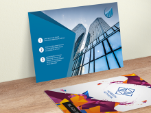 72 Report Gotprint Postcard Template in Photoshop by Gotprint Postcard Template