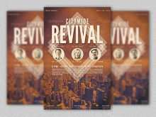 72 Report Revival Flyer Template Layouts with Revival Flyer Template