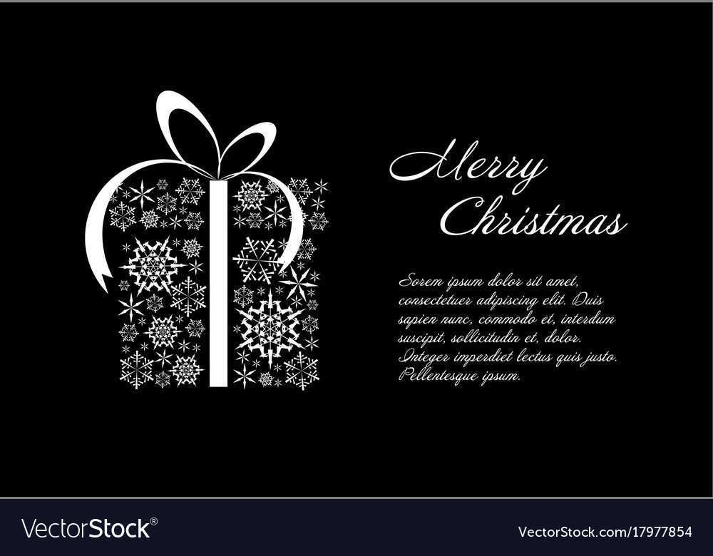 72 Visiting Christmas Card Templates Free Black And White For Free for Christmas Card Templates Free Black And White