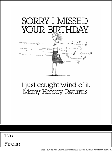 73 Best Belated Birthday Card Template in Photoshop by Belated Birthday Card Template