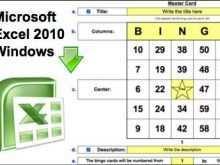 73 Blank Bingo Card Template 5X5 Excel PSD File with Bingo Card Template 5X5 Excel