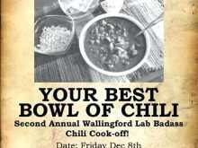 73 Blank Chili Cook Off Flyer Template Maker for Chili Cook Off Flyer Template