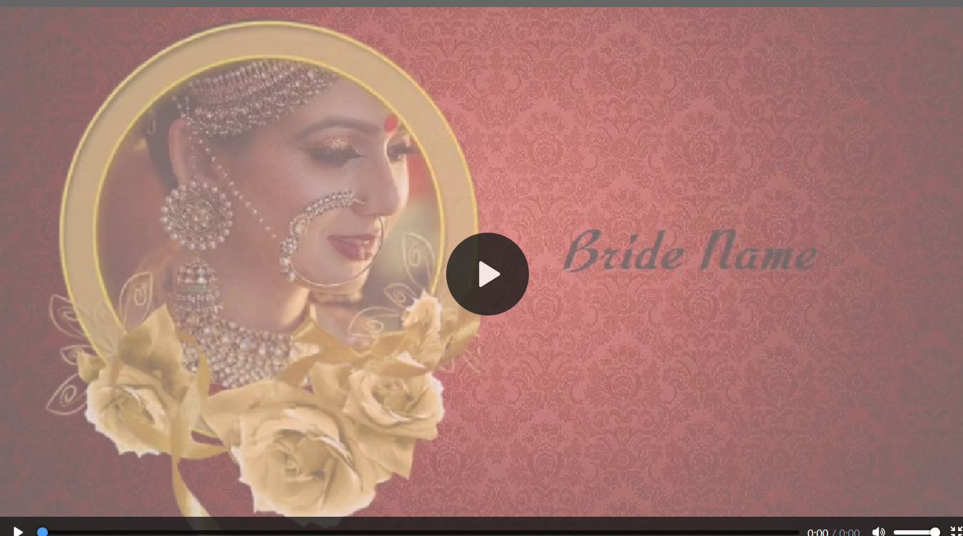 5 Blank Wedding Card Template Video Now with Wedding Card